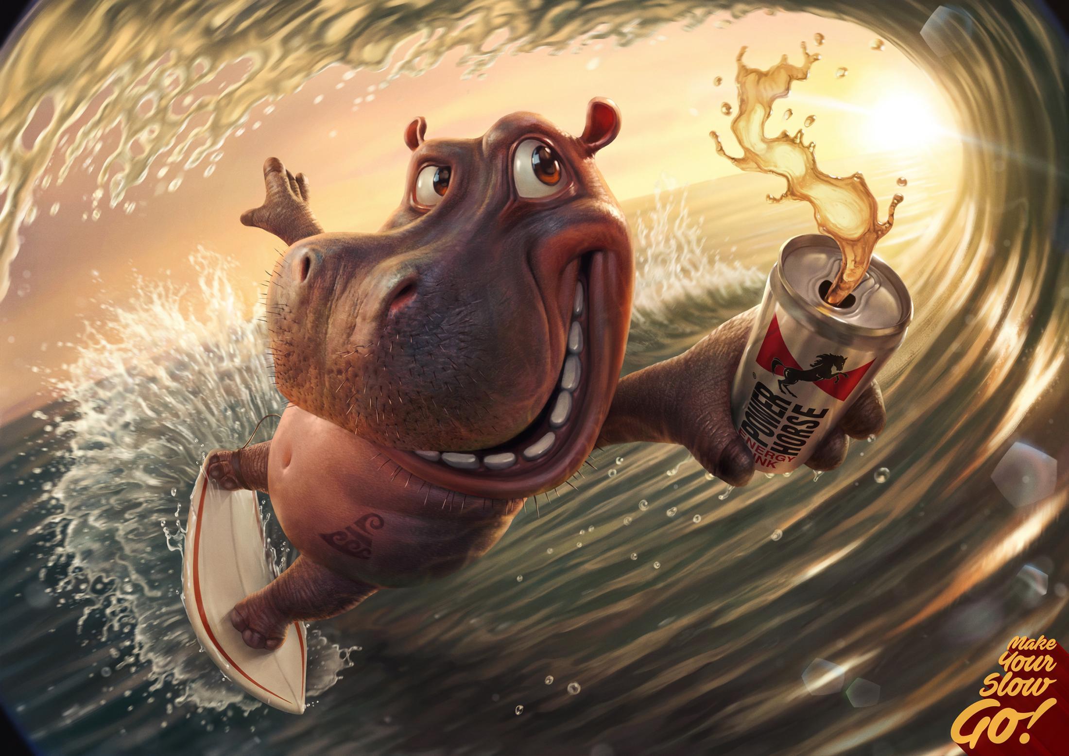 26.Power Horse Hippo.[大嘴收纳屋].jpg