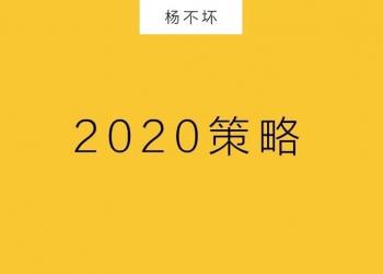 ?2020:低预算,大策略