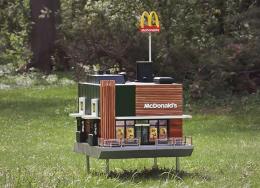 """世界上最小的麦当劳""""开业""""了"""