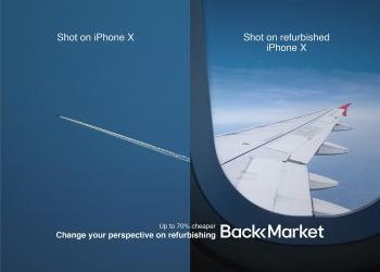 """这家二手交易平台拍了一组""""伪iPhone""""广告?"""