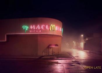 深夜寂寞的胃,麦当劳承包了