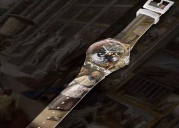 玩坏名画!SWATCH想要把整个卢浮宫印在手表上