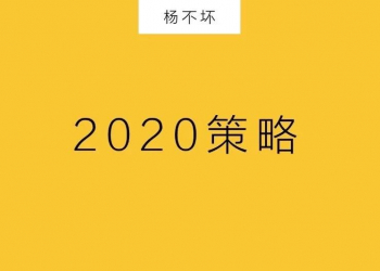 2020:低预算,大策略