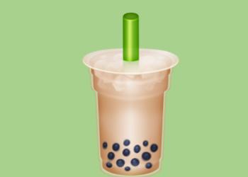 emoji的新表情里,有你戒不掉的奶茶