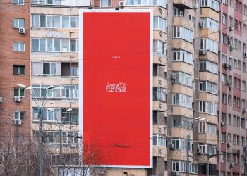 可口可乐的平面,不仅仅是个logo