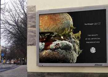 """汉堡王的新广告,让人""""反胃""""?!"""