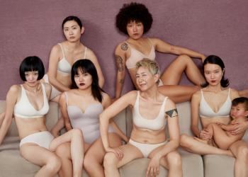 在这支内衣广告里,看见另一种性感