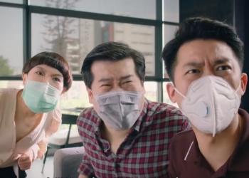 泰国的疫情广告,还是熟悉的沙雕