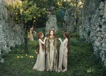 Dior把希腊众神变成时装模特,真·神仙场面