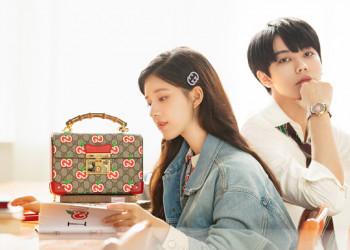 Gucci七夕广告里的赵露思,有甜到你吗?