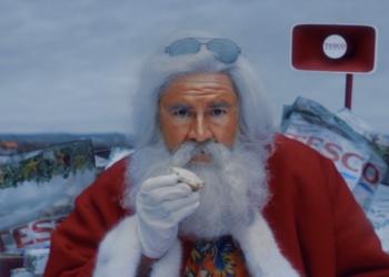 英国乐购的圣诞广告,彻底放飞自我了...