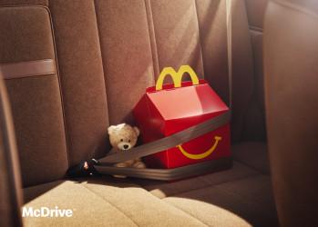 麦当劳的新海报,可可爱爱!
