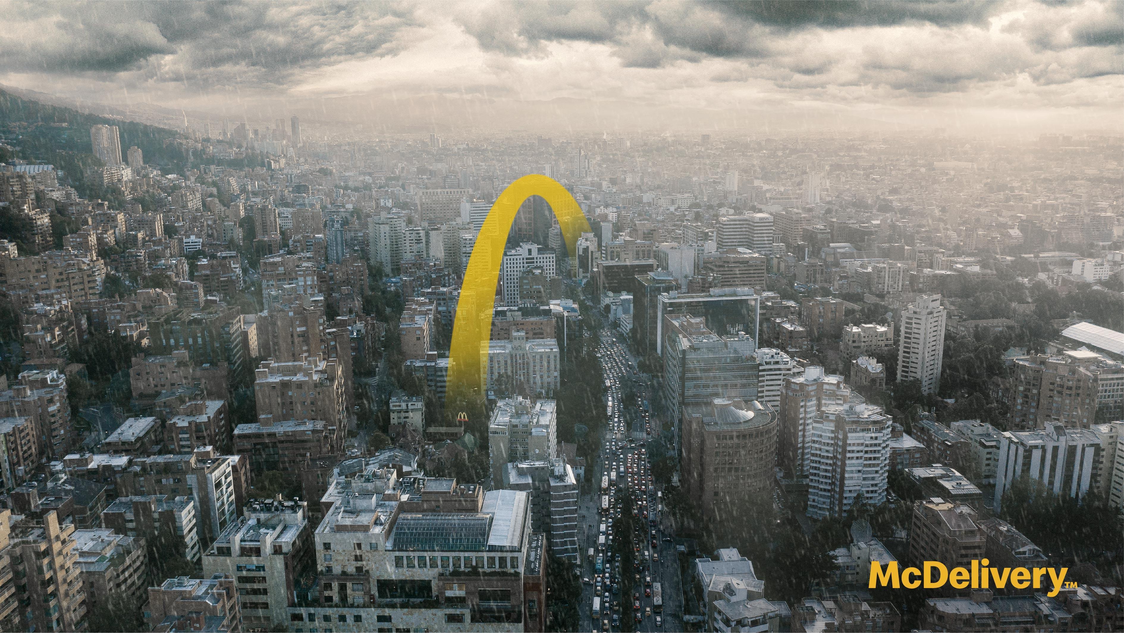 麦乐送「空运」联想海报:好时机,无需等待.jpeg